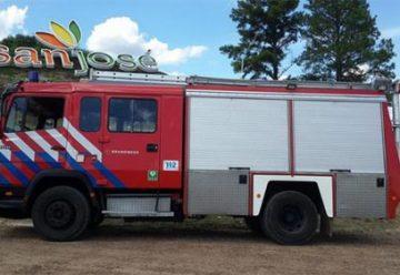 Bomberos Voluntarios de San José tiene un nuevo vehículo