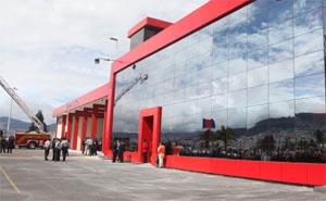 """Nueva estación de bomberos Nº21″Parque Bicentenario"""""""