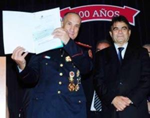 Subsidio para una autobomba a Bomberos de Bernal