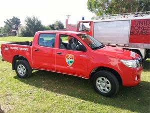 Nueva unidad de rescate para los Bomberos Costa Norte