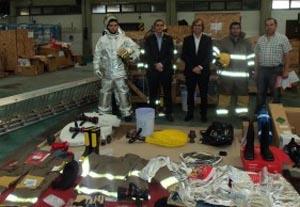 Nuevo equipamiento de última generación para los bomberos aeroportuarios