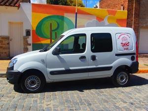 El Cuartel de Bomberos Voluntarios de Vela adquirió una nueva camioneta