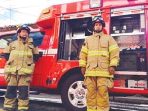 Nueva unidad de rescate presentó Bomberos de Latacunga