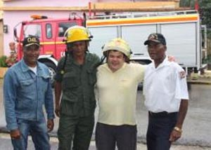 Camión de bomberos para la República Dominicana