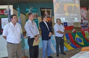 Bomberos de Campana fue sede de importante capacitación internacional de Combate de incendios Forestales