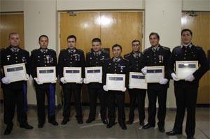 Bomberos de Ñuble recibieron certificación profesional