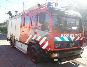 Bomberos de Alcorta, tienen nuevo autobomba