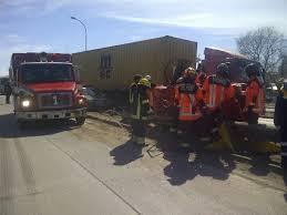Tres Voluntarios de Hualpén lesionados durante rescate vehicular