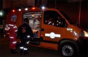 Bomberos que atendían emergencia fueron arrollados por motociclista ebrio