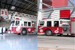 Nueva York regala a Juárez dos nuevas máquinas para Bomberos