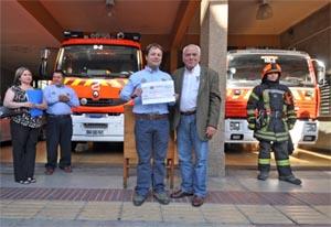 Mejorarán el cuartel de la compañía de bomberos Germania de Puerto Montt