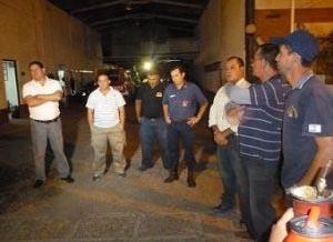 Bomberos Voluntarios de Ituzaingó acuartelados
