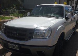 El cuerpo de Bomberos de Concepción del Uruguay, adquirió una nueva camioneta para el cuartel