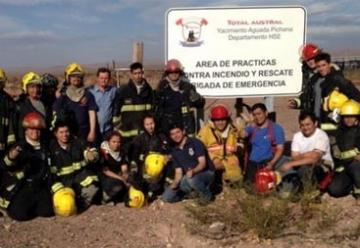 Bomberos Cutral Co compartieron capacitación con sus pares de Temuco