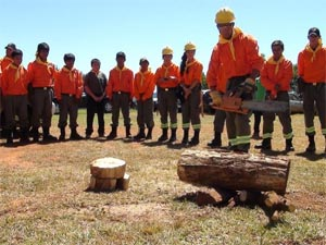 Incorporan a bomberos indígenas en Itapuá