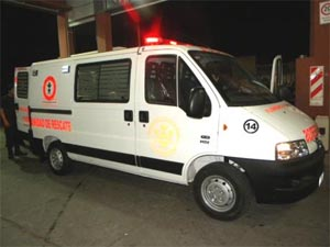 Recibieron la nueva Ambulancia 0 Km los bomberos voluntarios de Florencio Varela
