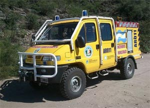 Bomberos Voluntarios de Valle Fértil sumó una 4×4 para rescates e incendios forestales