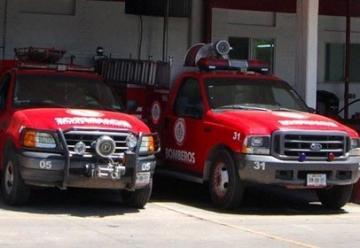 Nace un bello bebé en estación de bomberos de Durango