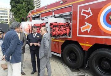 El Ayuntamiento de Las Palmas de Gran Canaria moderniza el Servicio de Extinción de Incendios