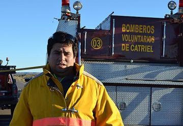Removieron a Díaz de la intervención de bomberos voluntarios