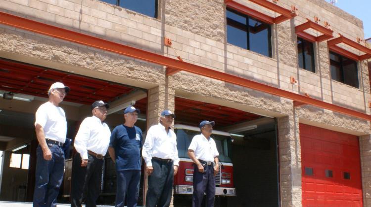 Dejan como nueva la estación de bomberos en Bahía de Kino