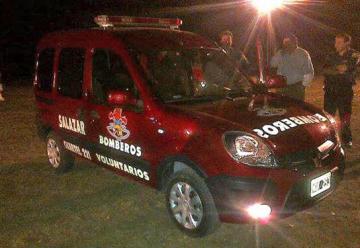 Bomberos Voluntarios de Salazar recibió una nueva unidad O Km.