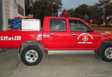 Nuevo equipamiento para Bomberos Voluntarios de Santa Isabel