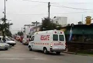 Los Bomberos de Santa Clara presento su nueva unidad de rescate