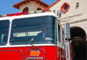 Bomberos de Tecate cuentan con un camión más para combatir incendios