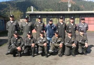 Los Bomberos de Lota inauguraron la Quinta Compañía, en el sector de Valle Colcura