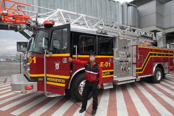 El Cuerpo de Bomberos de Quito se moderniza