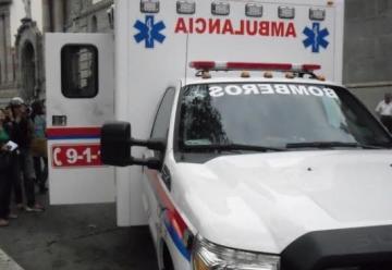 Manifestantes atacaron ambulancia de los bomberos de Mérida