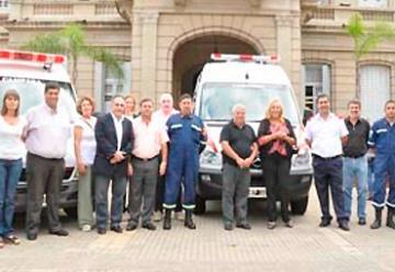 Bomberos Voluntarios de Campana sumó una nueva unidad de rescate