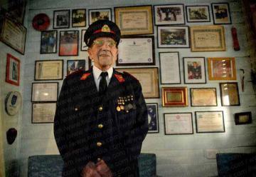 Luis, el héroe más veterano