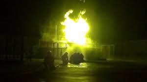 Se recuperan los tres bomberos heridos en el incendio de la planta de gas