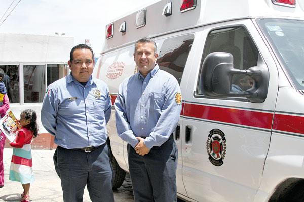 Nace un bebe en una ambulancia de bomberos