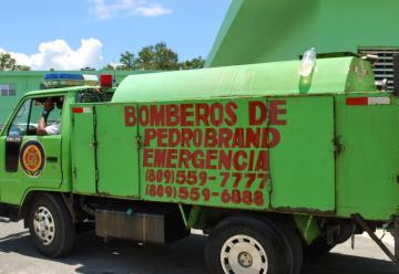 Lamentable situación de los Bomberos de Pedro Brand