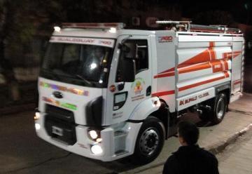 Bomberos de Gualeguay presentaron una nueva unidad cisterna