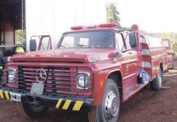 Llegó la primera autobomba para los bomberos voluntarios de Andresito