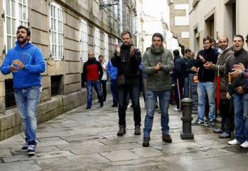 Bomberos de media España, contra los despidos hechos por Natutecnia