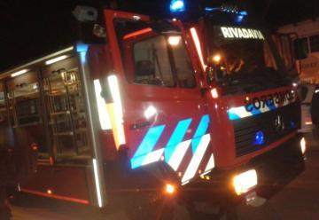Bomberos Voluntarios de Rivadavia recibió la tercera unidad