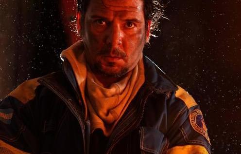 Pepe Monje, actor y bombero voluntario