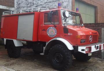 Una nueva para incendios forestales se sumó a los Bomberos de Esteban Echeverria