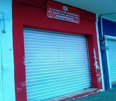 Se quedarán sin Cuartel los bomberos de Paso del Macho, no tienen para pagar la renta