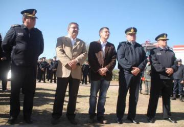 Inauguraron nuevo cuartel de Bomberos de la Policía de Catamarca.