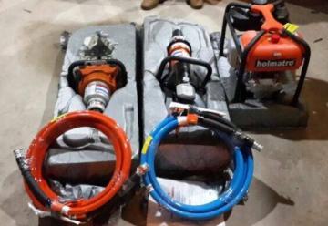 Bomberos de CDE adquieren nuevo equipo de rescate.