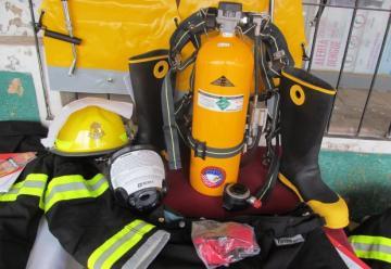 Bomberos de Joaquín V. González con nuevo equipamiento