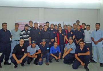 Capacitación en Psicología de la emergencia para bomberos