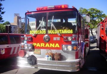 Bomberos de Paraná advierten que podría haber nuevos sirenazos