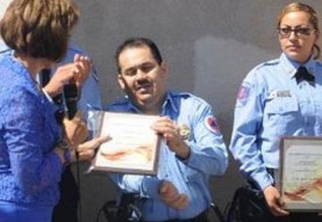 Fallece teniente de bomberos tras una agonía de cuatro años